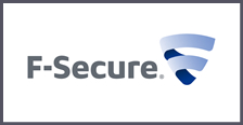 logo mediano empresa F-secure disponible su tecnologia en Unidirect