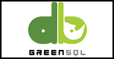logo mediano empresa Greensql disponible su tecnologia en Unidirect